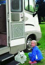RV Trailer Camper Screen Door Aluminum Deluxe Grille Sturdy Prevent Child Pets