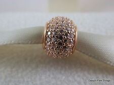 NEW!! AUTHENTIC PANDORA CHARM ROSE COLLECTION PAVE LIGHTS #781051CZ  P