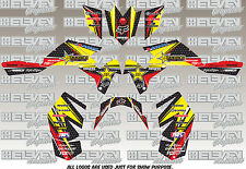 suzuki ltr450 graphics kit decals lt-r450 semi custom LTR 450 QUAD atv stickers