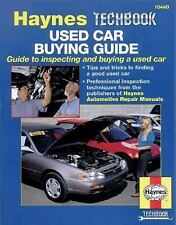 Used Car Buyer's Guide (Haynes Repair Manuals)-ExLibrary