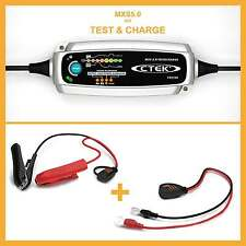 CTEK MXS 5.0 T&C Charger Trickle charger Battery tester Charge test