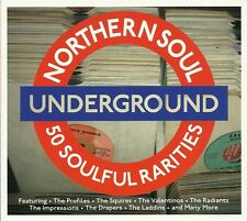 NORTHERN SOUL UNDERGROUND - 2 CD BOX SET - 2016 VERSION - ROUGH LOVER & MORE