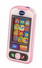 NEW VTech Touch and Swipe Baby Phone Light Smartphone Educational Kids Toy Pink