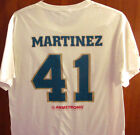 MAHONING VALLEY SCRAPPERS med tee Victor Martinez baseball T shirt minor league