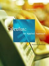 Calculus : An Applied Approach by Ron Larson and Bruce H. Edwards (2005,...