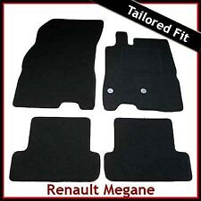 Renault Megane Mk3 Coupe 2008-2016 Tailored Fitted Carpet Car Floor Mats BLACK