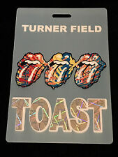 ROLLING STONES 2002 FORTY LICKS TOUR TURNER FIELD-PLASTIC PASS