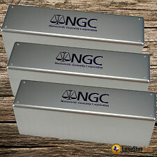 3 - Official NGC Certified Coin Holder (Slab) Storage Box