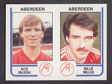 Panini - Football 84 - # 440 McLeish / Miller - Aberdeen