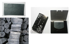 Buy2 Get 1Free/Natural Charcoal Oil Facial Blotting Paper,Makeup,Sebum_Korea