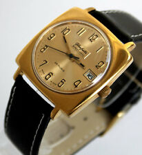 Legendare GERMAN GUB GLASHÜTTE Caliber 75 SPEZIMATIC WRIST WATCH 70s