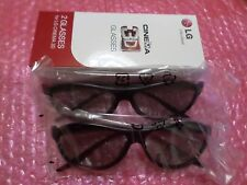2xlg Cinema 3d glasses ag-f310 (x2) bundle