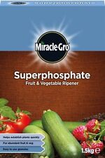 MIRACLE GRO SUPERPHOSPHATE PHOSPHATE PLANT FOOD - FRUIT & VEG RIPENER 1.5kg