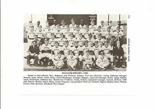 Brewers 1980 Team Picture Robin Yount Paul Molitor Cecil Cooper Harvey Kuenn