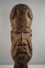 Holzmaske Skulptur Standmaske  handgeschnitzt  66 cm 5,7 kg