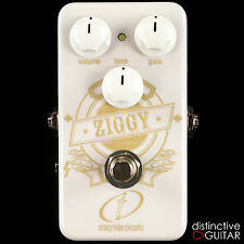 BRAND NEW CRAZY TUBE CIRCUITS ZIGGY MOSFET CASCADING GAIN BOUTIQUE OVERDRIVE