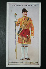 Grenadier Guards  Drum Major    Original  Vintage Card # VGC