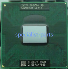 Intel Core 2 Duo Mobile T9300 2,5 GHz Dual-Core 6M 800MHz Sockel P CPU Prozessor