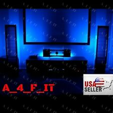 WIRELESS LED Home Theater TV Back Lighting Accent Kit Multi-Color-Changing