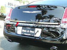 2011-2016 Chrysler 300 300C Trunk Lower Trim Accent Chrome Stainless Steel