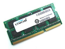 Crucial CT51264BC1339 4GB 2Rx8 SODIMM PC3-10600S 204-Pin DDR3 Laptop Memory