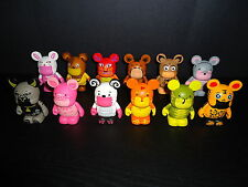 "DISNEY 3"" VINYLMATION CHINESE ZODIAC COMPLETE SET OF 12 FIGURES"