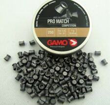 GAMO PRO MATCH COMPETITION 5.5 mm cal. .22 250 pcs. Air rifle Airgun pellets