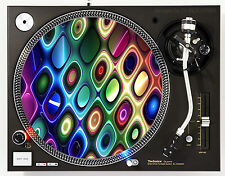AFFILIATED TRIP HOLES - DJ SLIPMATS (1 PAIR) 1200's or any turntable