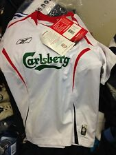 LIVERPOOL SHIRT away 2005/6 IN  28/30 or 30./32 INCH AT £12 brand new