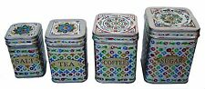 Stainless Steel Tea Coffee Sugar salt Jars Box Canisters Storage Bowl Kitchen