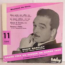 EDDIE BARCLAY Musiques de films Chiens perdus sans colliers ... 72047