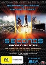 Seconds From Disaster : Vol 2 (DVD, 2010, 6-Disc Set)