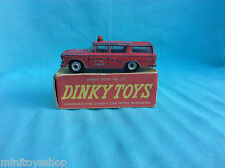 Dinky toys no. 257  Canadian Fire Chief's Car Nash Rambler ovp