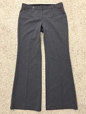 EXPRESS EDITOR Gray DRESS PANTS size 12R 12 Regular Classic Look Grey H6