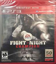 Fight Night Champion  (Sony Playstation 3, 2011) New