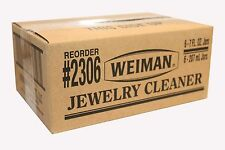 6 Weiman Fine Jewelry Cleaner Clean Gold Silver Platinum Titanium  & Diamonds