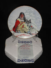 INDIAN PLATE SNOW PRINCESS  BY THE HAMILTON COLLECTION 1993