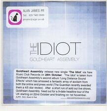 (EP354) Goldheart Assembly, The Idiot - DJ CD