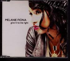 MELANIE FIONA Give It To Me Right ONE TRACK PROMO CD SINGLE