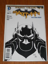 BATMAN #24 FN (6.0) DC BLACK AND WHITE VARIANT NEW 52 ZERO YEAR DECEMBER 2013
