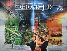 LE RETOUR DU JEDI Affiche Cinéma GEANTE 4x3m WIDE Movie Poster STAR WARS IV / 4