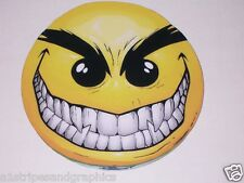 Evil Smiley Smile Full color Graphic Window Decal Sticker Decals Stickers 8 X 8