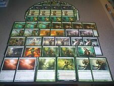MTG Magic NISSA REVANE DECK Avacyn Restored Angels Elf Lot Mono Green LOOK !!!