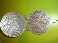 Sweet Pastry Maker Russian Cookie Baker Iron Waffle Vaffly Mold Form New