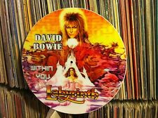"DAVID BOWIE - Within You Rare Picture Disc 12"" Promo Single (LABYRINTH LP) NM"