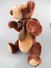 knuffiger Grisly Teddy - Mohair Collection - Made in Germany (271)