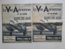VIE AERIENNE 116 FARMAN RAID RECORD 1937 PINSARD MODELE REDUIT AVIATION MARCHAND