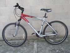 Giant Boulder Hardtail Mountain Bike 24 Speed in Metallic Silver Touch of Red