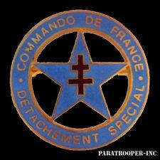 Insigne Métallique Commando de France Détachement Spécial
