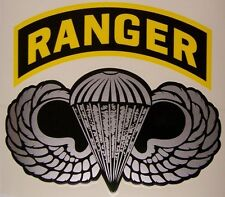 Window Bumper Sticker Military Army Airborne Ranger NEW Decal